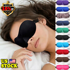 3Pcs Padded Shade Cover Winker Patches Silk Blinder Shield Sleeping Aid Eye Mask