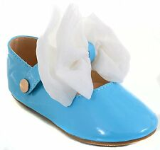 Infant Removable Bow Patent Baby Maryjanes