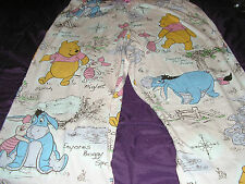 Disney Eeyore Pooh & Piglet Capri Womens Lounge/Sleep Pant