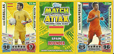 MATCH ATTAX WORLD CUP 2014 MAN OF THE MATCH 100 CLUB PICK THE ONES YOU NEED MINT