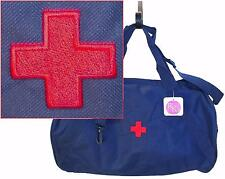 Red Cross Duffel Bag Medical Professional + Free Name Custom Embroidered NWT