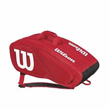 Wilson Team II Racquet Sports Squash Tennis Gear 12 Racket Bag