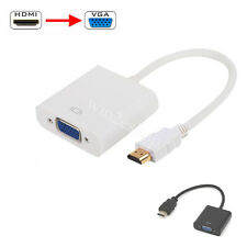 HDMI Male to VGA Female Video Cord Converter Adapter Cable for HDTV TV PC 1080P