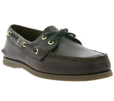 NEW SPERRY A/O Men's Shoes Real leather Boat shoes Boat Shoes Brown 0195214