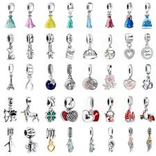 European Jewelry Pendant Silver 925 Charms Bead Dangle Fit Sterling Bracelets