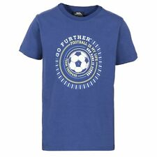 Trespass Childrens Boys Footballer Short Sleeve Casual Printed T-Shirt