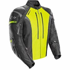 Joe Rocket Atomic 5.0 Mens Textile Jacket Black/Hi-Vis Yellow