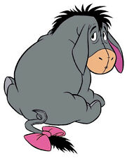 "5.5""-10"" DISNEY EEYORE POOH WALL SAFE STICKER CHARACTER BORDER CUT OUT"