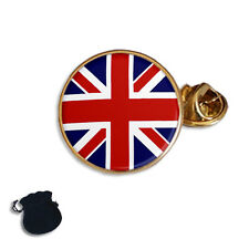 UNION JACK BRITISH FLAG  ENAMEL LAPEL PIN BADGE GIFT
