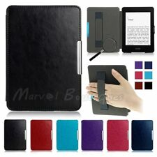 Magnetic Leather Smart Case Cover For Amazon Kindle Paperwhite 123 /Kindle