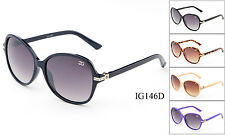 Eyewear Womens Rhinestones Designer Wrap Sunglasses Shades Fashion New IG Brand