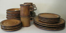 Nelson McCoy Canyon dishes dinner salad cereal cups saucers ~ no chips or cracks