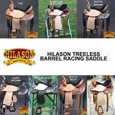 HILASON TREELESS WESTERN BARREL RACING TRAIL PLEASURE SADDLE -14 15 16 17 18