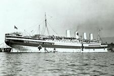 rp01468 - French Hospital Ship - France - photograph