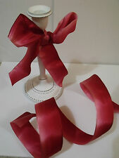 She's In the Pink! Shady Rose to deep pinks -Weddings - Luxury Wire Edged Ribbon