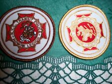 RAILROAD  NYC TRANSIT POLICE TWO DIFFERENT HONOR LEGION PATCH