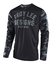 Troy Lee Designs GP Off-Road Jersey - Cosmic Camo Gray - All Sizes