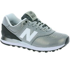 New New Balance 574 Shoes Women's Sneaker Trainers Silver Grey WL574RAC