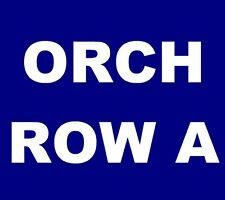 Wilco tickets Birmingham Alabama Theatre 10/7 Theater *** ORCH, ROW A! ***