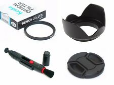 NY1 37mm Lens Hood Cap Cleaning Pen UV Filter For DSLR Digital Camera Camcorder