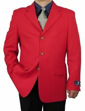 Sharp Men 3B Dress Blazer Red 36S-48L tb27