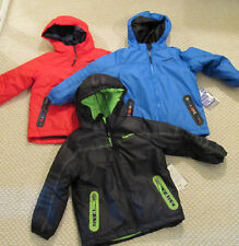 NEW $110 Rugged Bear 4in1 Hooded Winter Jacket Coat Set BOYS SIZES 4 5 Choice