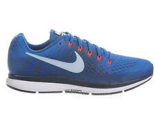 NEW MENS NIKE AIR ZOOM PEGASUS 34 RUNNING SHOES TRAINERS BLUE JAY / LIGHT ARMORY