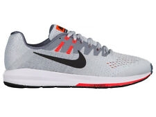 NEW MENS NIKE AIR ZOOM STRUCTURE 20 RUNNING SHOES TRAINERS PURE PLATINUM / BLACK