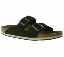 BIRKENSTOCK Arizona Men's Shoes Real leather mules Sandal Brown 1000595