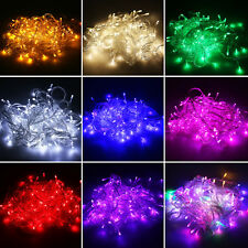 100/200/300/400LED String Fairy Wedding Light Lamp Xmas Party Christmas Decor