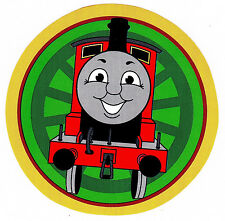 "5""-8"" THOMAS THE TRAIN TANK  CHARACTER  WALL SAFE STICKER BORDER CUT OUT"