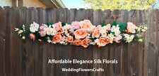 "50"" Swag ~ MANY COLORS Centerpiece Silk Wedding Flowers Decoration Chuppah Arch"