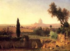 Handmade Oil Painting repro George Inness St. Peter's, Rome