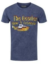 The Beatles Yellow Submarine Denim Blue Men's T-shirt