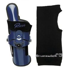 Robbys REVS 3 Bowling Ball Wrist Brace Small-XLarge Left Handed & Wrist Liner
