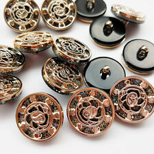 20pcs 20mm/25mm/30mm Plastic Button Overcoat Sewing Clothes Buttons Upick