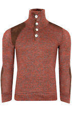 Tazzio Fashion emimay Sweater Men's Knitted Sweater Leisure Sweater Red em-1109