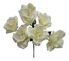 72 Open Roses ~ MANY COLORS ~ Bouquets Centerpieces Bridal Silk Wedding Flowers