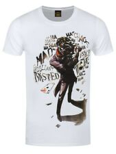 Batman Joker Insane Men's White T-shirt