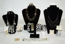 13pc Mixed Lot Fashion Jewelry Necklace Bracelet Earrings Retail $186 JI New