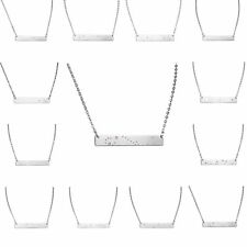 Elegant Bar Star Sign stainless Steel Constellation Chain Pendant Charm Necklace