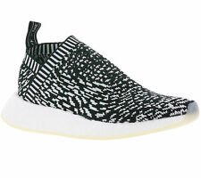 Adidas Originals NMD_R2 PRIMEKNIT BOOST SHOES TRAINERS BLACK by3012