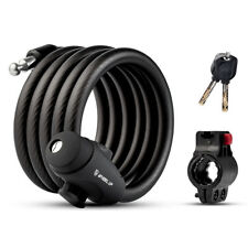 Multi-function Bicycle Bike Anti Theft Chain Lock Cable Lock & 2 Security Keys