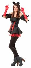 Sexy 4TL Minnie Mouse Costume Ladies Mickey Dress K Laundry Bags