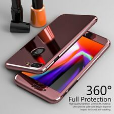 360° Full Body Protective PC Hard Slim Case Mirror Cover Skin For iPhone 8 Plus