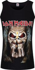 Iron Maiden Eddie Candle Finger Men's Black Vest
