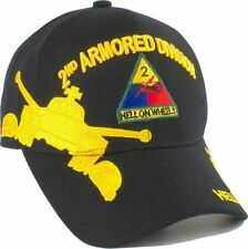 2nd Armored Division Hell On Wheels Shadow Mens Cap