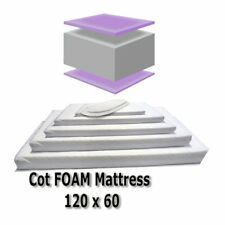 Baby Travel Mattress Spring Foam for Cot CotBed Swinging Crib Moses Basket