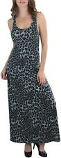 ToBeInStyle Women's Stretchy Scoopneck Animal Print Racerback Maxi-Dress