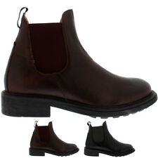 Mens H By Hudson Caslon Calf Leather Work Suit Casual Office Ankle Boots UK 6-12